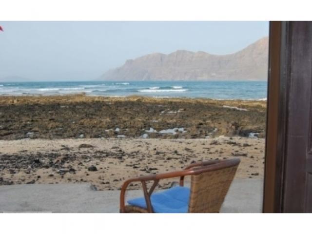 Terrace - Famara Beach Bungalow, Famara, Lanzarote